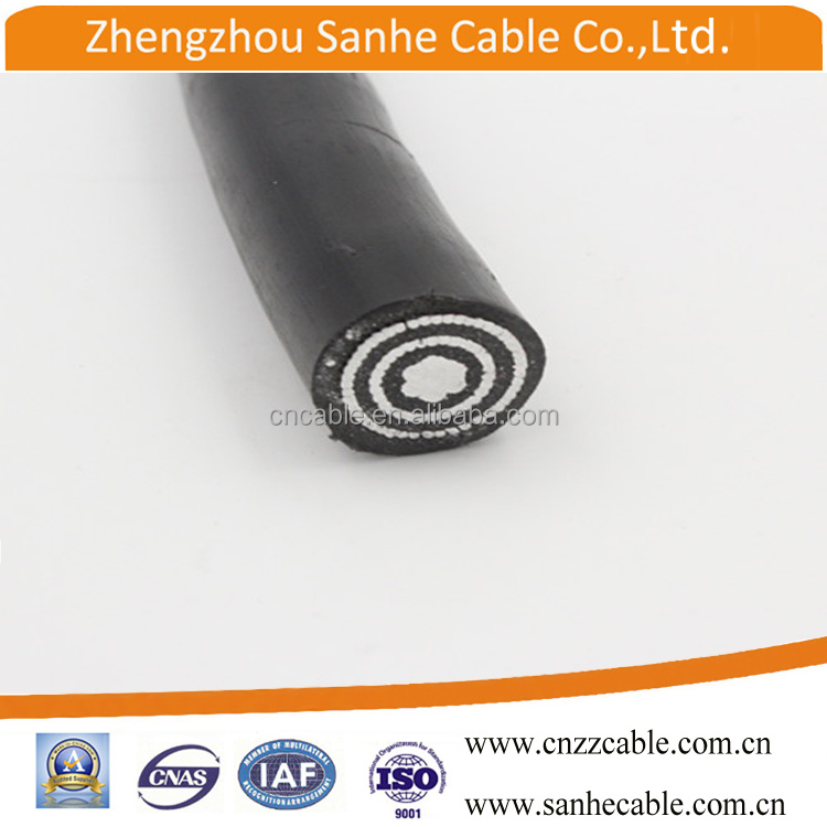 Low Voltage Aluminum 3 Core Insulated Armored Concentric cable