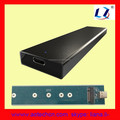 Aluminum USB3.1 to NGFF(M.2) SSD enclosure All in one 2230 2242 2260 2280 SSD Hard Disk Case USB3.0 NGFF Box