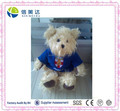 Long Plush Cute University Symbol Teddy Bear soft stuffed toy