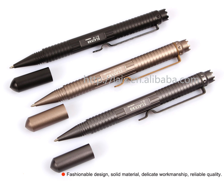 portable self defense tool crown shape tactical pen