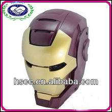 2014 hot selling China manufacturer iron man movie full face iron mask