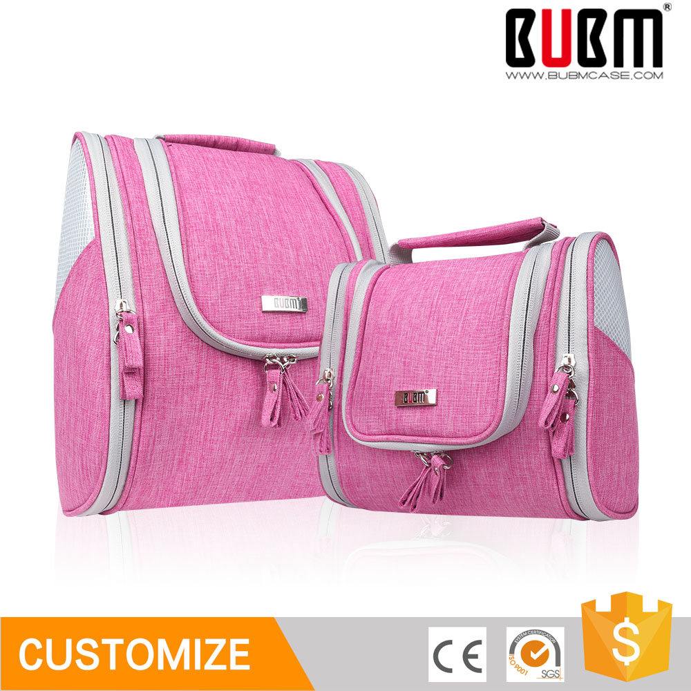 BUBM Hot Sale Storage Travelling Organizer Handing Women Comsmetic Bag Travel Makeup Bag