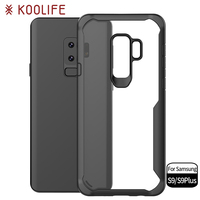 New products crystal PC case phone cover cellphone case for Samsung Galaxy S9
