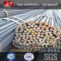 Low price BS4449 B500B steel rebar price per ton