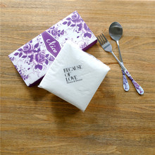 Wholesale Daily White Paper Napkins With Logo