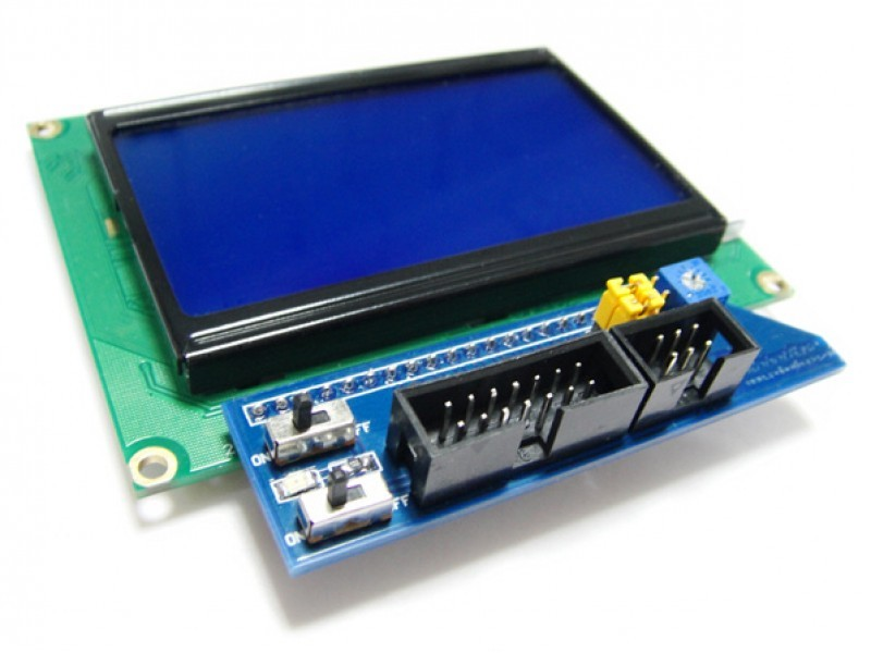 SPI LCD12864 Module (Arduino Compatible)