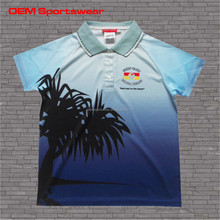 Latest custom design pique polo shirt no minimum