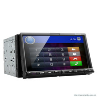 Wholesale android car dvd player 1.6G CPU,usb,gps,bt,1080p video play car navigation