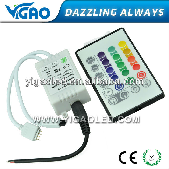 led touch controller for led lighting for rgb led strip