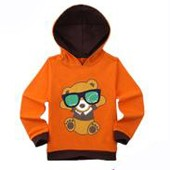 Custom kids hoodies check children sweatshirt boys hoody with zip