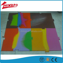 Washable colorful custom anti slip silicone floor mat for children