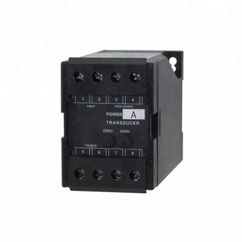BJ-QPA-A2 ac current transducer 0 10v output, electrical panel use transducer