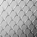 "1/2""--2"" PVC Coated Diamond Mesh Fence/Decorative Wire Mesh"