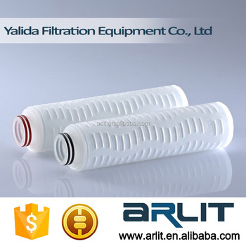 PP Pleated Micropore Membrane Filter Cartidge for Liquid Filtration