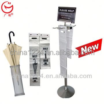 New economical and practical umbrella disposable bags stand small automatic tools