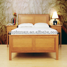 2014 new fashion eco friendly solid bamboo furniture prices for beds