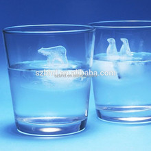 Fancy Ice Cube Tray, Polar Bear and penguin Silicone Ice Cube Tray