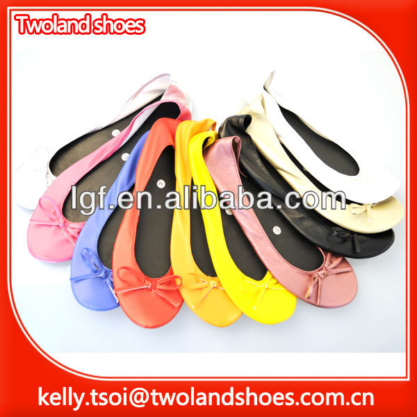 Ballerina ballet Rollasole flat Roll Up foldable Shoes
