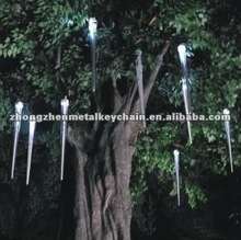 Decorative tree rain light,led meteor tube