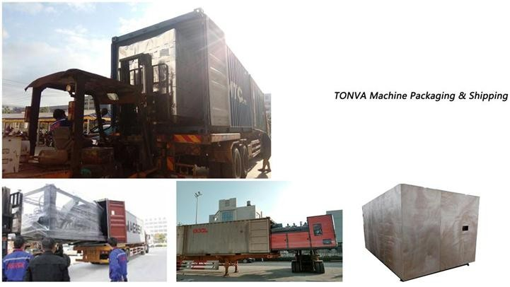 TONVA Single station plastic bottle blow molding machine manufacturer