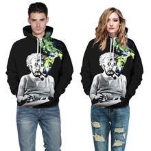 Sweatshirts Men/women Smoker 3D Printed Fashion Couple Hoodies