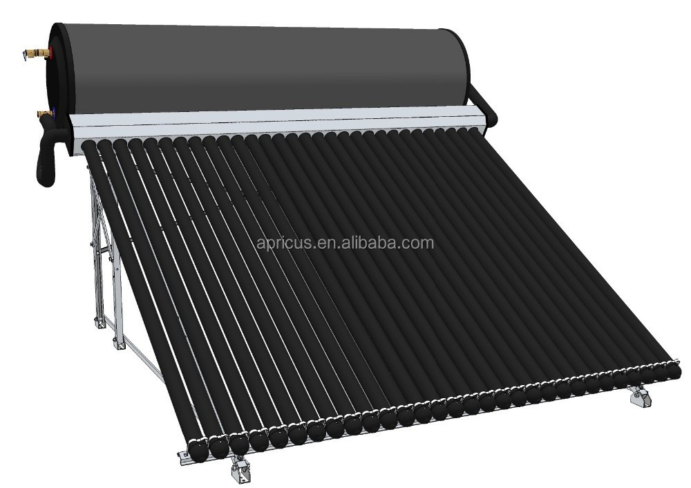 High Quality Integrated Thermosyphon vacuum tube international certified solar Heater Water System