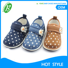 New wholesale baby shoes 2017 cotton kids shoes with sound soft moccasins shoes