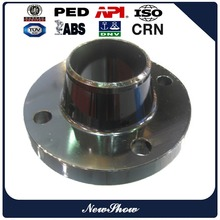 Raised face seamless carbon steel A105 300# welding neck flanges export