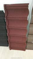 New design hot in 2016 roof tiles/galvanized steel and color sand coated steel roofing sheet