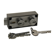 Double bit mehcanical safes key lock for cash carry case Mosler586A