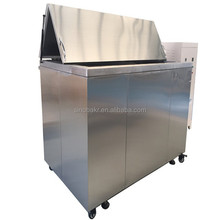 Sinobakr power ultrasonic cleaner for sand scoop and perforated metal sheet