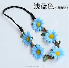 Fashion Beautiful flower headwear hair accessories for bride wedding