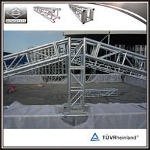 Metal stage roof truss portable aluminum roof truss system