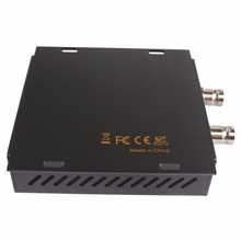 With Extend Transmission Function HDMI to SDI Scaler Converter support 2 SDI Output (SD-SDI/HD-SDI/3G-SDI)