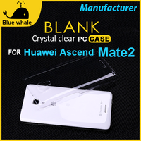 Plain Phone Cases For Huawei Mate 2, For Huawei Ascend Mate 2 Case Cover, Transparent Phone Case For Huawei Ascend Mate 2