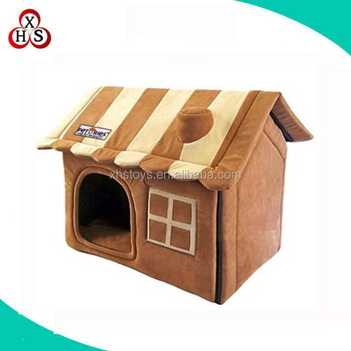 dog house factory making cute customized plush fabric dog house