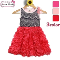 China Supplier Cheap Baby Girl Summer Dress 100% Cotton Puffy Angel Kids Fashion Dresses Pictures