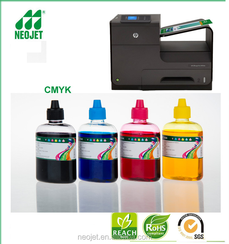 photo resistant ink pigment water based ink for hp officejet pro 400 500 series ink jet priinter