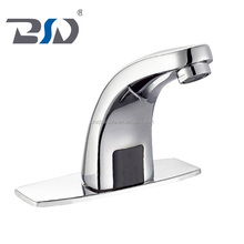 Water Save Brass Basin Faucet automatic touchless faucet hand free infrared sink mixer faucet