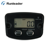 Digital Waterproof Resettable Wireless Vibration Activated Motorcycle Hour Meter