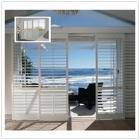 pvc sliding window in high quality