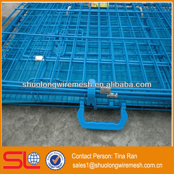 Have Stock factory Folding metal cages for dog kennels,dog kennel for sale(BV Certificate Company and Factory)