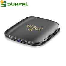 MEELO+4k Android 6.0 wifi set top box amlogic S905X quad core 1GB 8GB network Media player 17.0 HD 4K Smart tv box Meelo