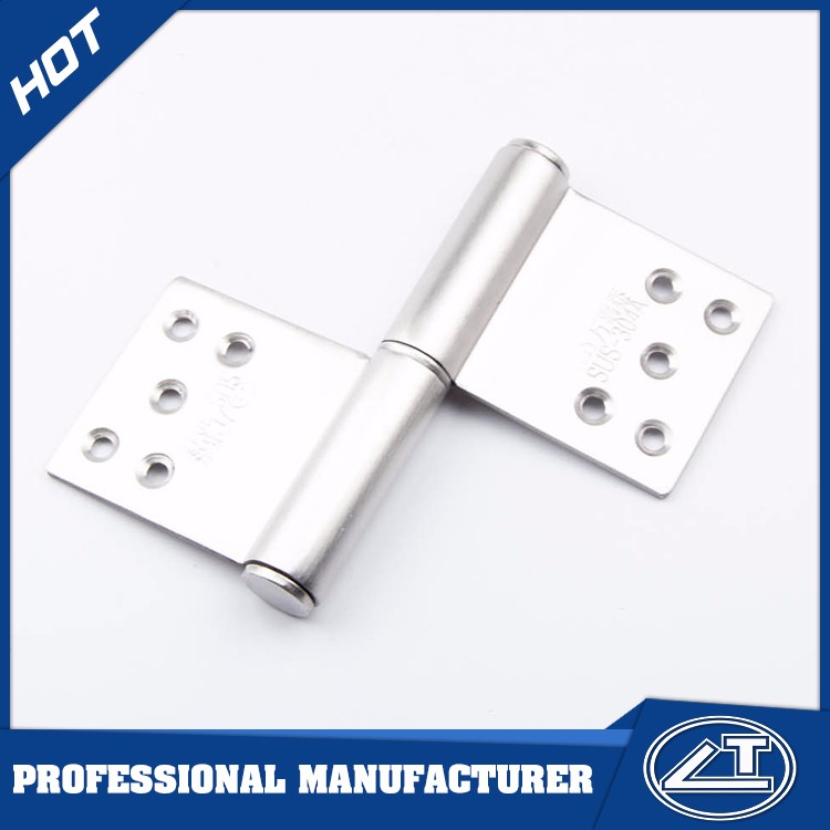 types of stainless steel flag shape door hinge