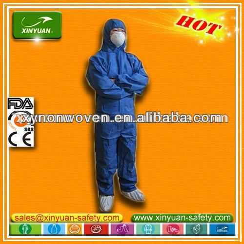 CE certified disposable TYPE 56 SMS Coverall