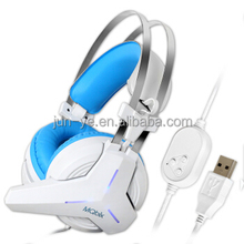 Beat Selling Products 2017 OEM Custom USB Gaming Headphone 7.1 Gamer Over Ear Headset