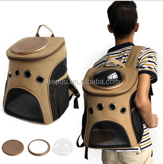 Cart/Dog Small Animal Capsule Carrier Traveler Pet Capsule Carrier Bubble Backpack