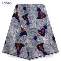 2017 good quality beautiful african wax fabrics hollandais on sale for women party dress