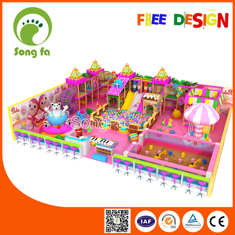 Amazing Candyland Kids Economical Indoor Playground Equipment South Africa