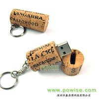 2014 Wine cork Usb Key/wine cork usb Flash Drive for wine branding